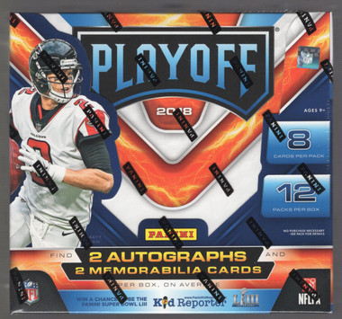2018 Panini Playoff Football Hobby Box