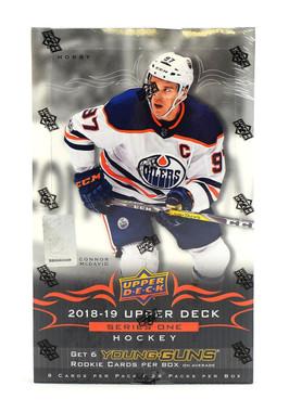 2018/19 Upper Deck Series 1 Hockey Hobby Box