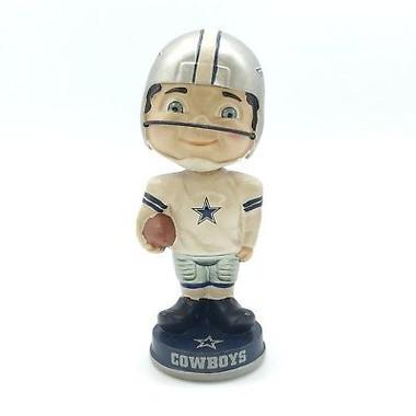 Dallas Cowboys Vintage Player Bobblehead
