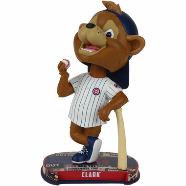 Chicago Cubs Mascot Clark Headline Bobblehead