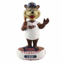 Minnesota Twins TC Bear Mascot Baller Bobblehead