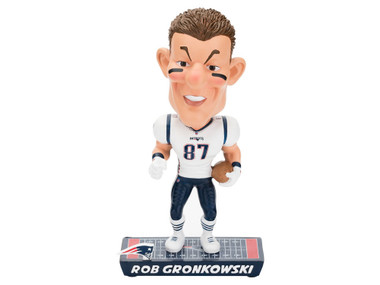 New England Patriots Rob Gronkowski Caricature Bobblehead