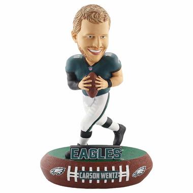 Philadelphia Eagles Carson Wentz Baller Player Bobblehead