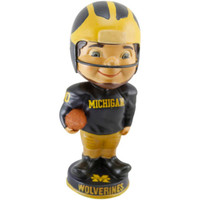 Michigan Wolverines Vintage Player Bobblehead
