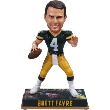 Brett Favre Green Bay Packers Retired Player Bobblehead