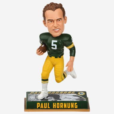 Paul Hornung Green Bay Packers Retired Player Bobblehead