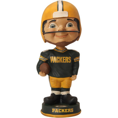 Green Bay Packers Vintage Player Bobblehead