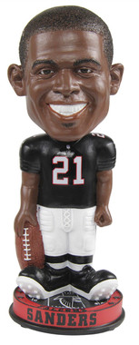 Atlanta Falcons Deion Sanders Knucklehead Bobblehead