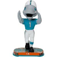 Miami Dolphins T.D. Mascot Headline Bobblehead