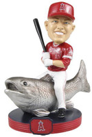 Los Angeles Angels Mike Trout MLB Riding Trout Bobblehead