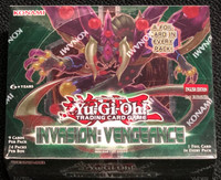 Yugioh Invasion Vengeance 1st Edition Booster Box