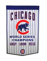 Chicago Cubs Pinstripe Banner