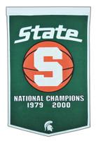 Michigan State Basketball Banner