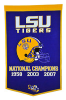 Louisiana State University Football Banner