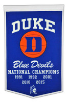Duke University Basketball Banner