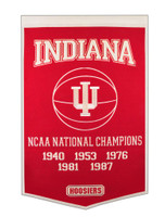 Indiana University Basketball Banner