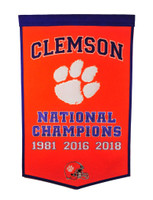 Clemson Football Banner