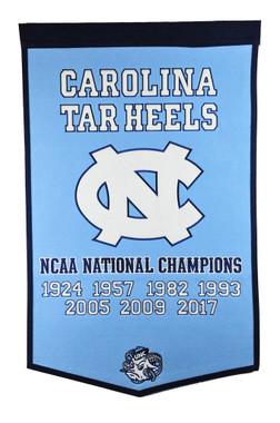 North Carolina at Chapel Hill Basketball Banner
