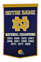 Notre Dame Football Banner