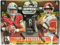 2018 Panini Contenders Optic Football Hobby Box