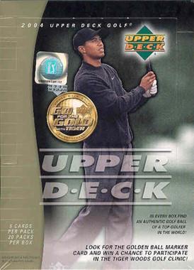 2004 Upper Deck Golf Hobby Box