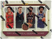 2018/19 Panini Cornerstones Basketball Hobby Box