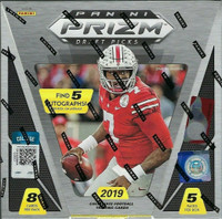 2019 Panini Prizm Collegiate Draft Picks Football Hobby Box