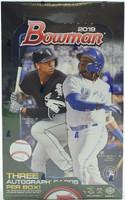 2019 Bowman Baseball Jumbo HTA Hobby Box