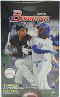 2019 Bowman Baseball Jumbo HTA Hobby 8 Box Case