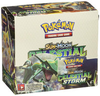 Pokemon Sun & Moon Celestial Storm Booster Box
