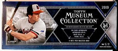 2019 Topps Museum Collection Baseball Hobby Box