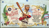 2019 Topps Allen & Ginter Baseball Hobby Box