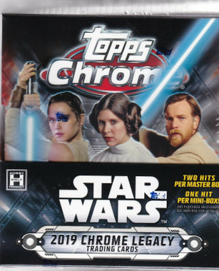 2019 Topps Star Wars Chrome Legacy Hobby Box