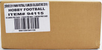 2019 Panini Flawless Collegiate Football Hobby 2 Box Case