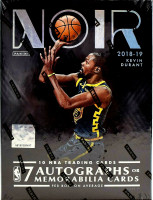 2018/19 Panini Noir Basketball Hobby 4 Box Case