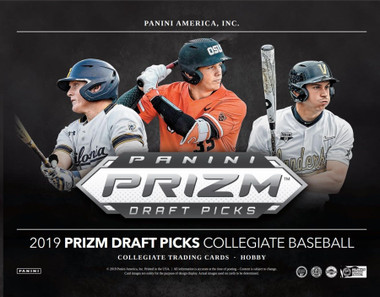 2019 Panini Prizm Collegiate Draft Picks Baseball Hobby Box