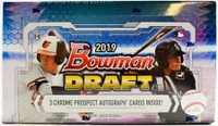 2019 Bowman Draft Baseball Jumbo Hobby Box