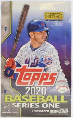 2020 Topps Series 1 Baseball Hobby Box