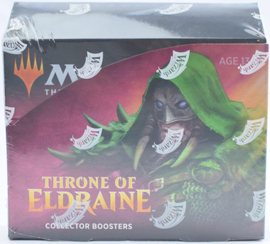 Magic the Gathering Throne of Eldraine Collector Booster Box