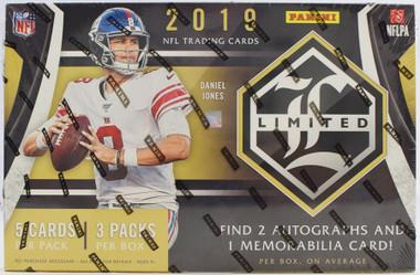 2019 Panini Limited Football Hobby Box