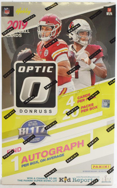 2019 Panini Donruss Optic Football Hobby Box