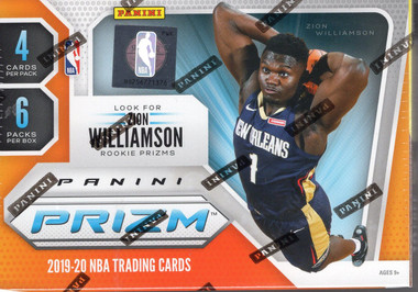 2019/20 Panini Prizm Basketball Blaster Box