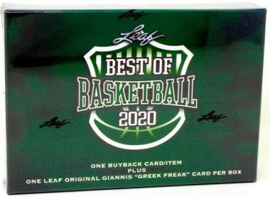 2020 Leaf Best of Basketball Hobby Box