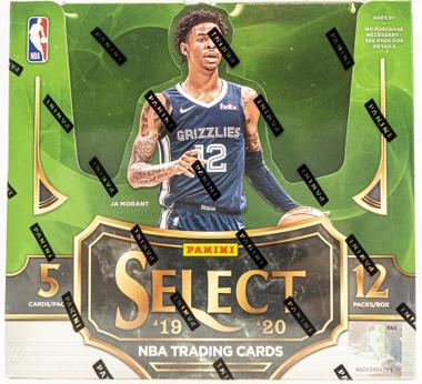2019/20 Panini Select Basketball Hobby Box