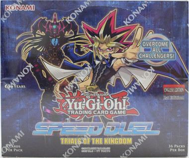 Yugioh Speed Duel: Trials of the Kingdom Booster Box