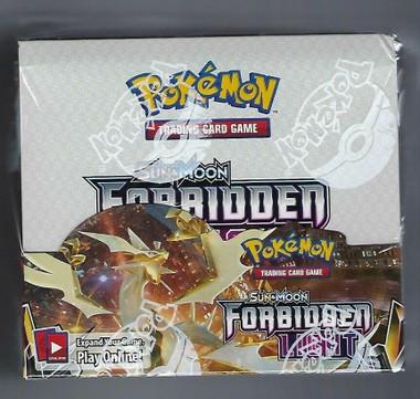 Pokemon Sun & Moon Forbidden Light Booster Box
