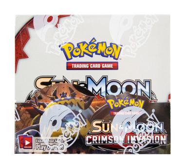 Pokemon Sun & Moon Crimson Invasion Booster Box