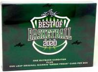 2020 Leaf Best of Basketball 10 Box Case