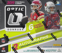 2019 Panini Donruss Optic Football 1st Off The Line Premium Edition Box