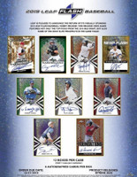 2019 Leaf Flash Baseball Hobby Box